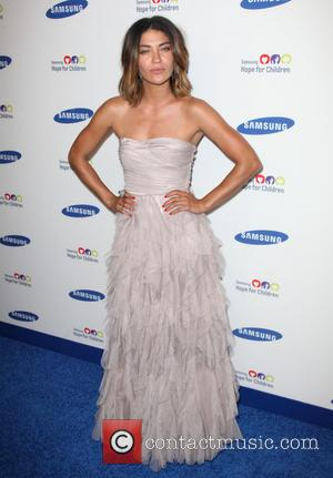 Jessica Szohr - 13th Annual Samsung Hope for Children Gala held at Cipriani Wall St - Arrivals - New York...