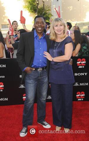 Ernie Hudson and Linda Hudson - Premiere of 22 Jump Street - Arrivals - Los Angeles, California, United States -...
