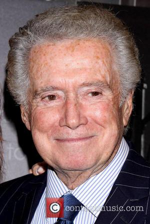 Regis Philbin - Jersey Boys New York Special Screening held at the Paris Theatre - Arrivals. - New York, New...