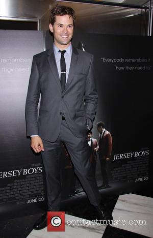 Andrew Rannells - Jersey Boys New York Special Screening held at the Paris Theatre - Arrivals. - New York, New...