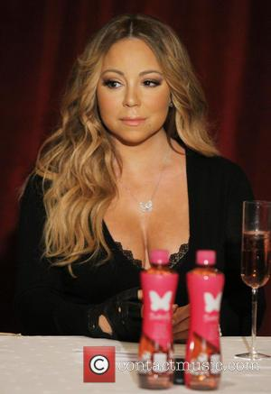 Mariah Carey - Mariah Carey   announces the new Go N'Syde 'Butterfly' bottle during a press conference at The...
