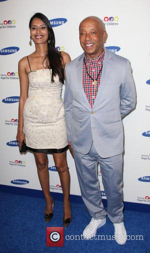 Russell Simmons and Guests - 13th Annual Samsung Hope For Children Gala at Cipriani Wall Street - Arrivals - New...