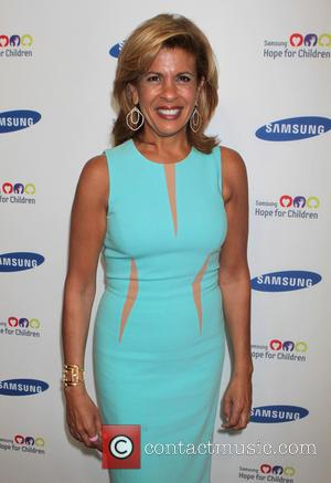 Hoda Kotb - Samsung Hope For Children Gala held at Cipriani Wall Street - Arrivals - New York City, New...