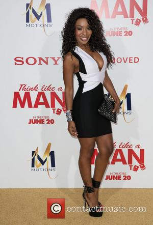 Porscha Coleman - Celebrities attend \Think Like A Man Too\ - Los Angeles Premiere at TCL Chinese Theater in Hollywood....