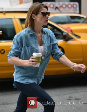 Ashley Greene - Ashley Greene and boyfriend Paul Khoury out and about in Manhattan - New York City, New York,...