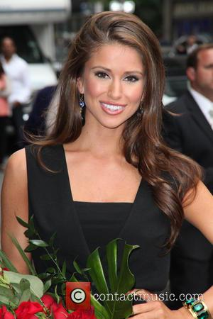 Nia Sanchez, Miss U.s.a. and David Letterman