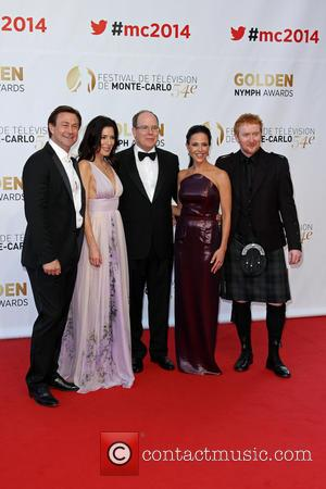 Grant Bowler, Jaime Murray, Julie Benz, Sas Prince Albert Ii Of Monaco, Tony Curran-   Fee Liable Image, Copyright © Atp Carpico Thierry