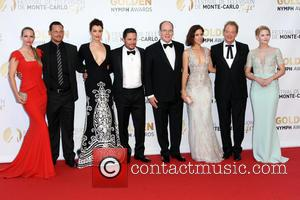 Ana Ortiz, Justin Chambers, Young Bellamy, Nick Wechshler, Sas Prince Albert Ii Of Monaco, Grimaldi Forum - Aj Cook, Jeff Perry, Jennifer Morrison -fee Liable Image, Copyright Atp Carpico Thierrythe 54 Th Tv Festival Of Monte Carlo 2014. Monaco, Fernseh Festival and Honorarpflichtiges Foto