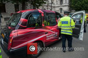 cab drivers, Taxi drivers and police