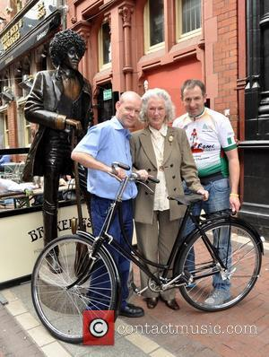 Murph Brennan, Philomena Lynott and Kevin Kelly - The mother of Thin Lizzy frontman Phil Lynott, Philomema Lynott was presented...
