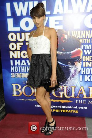 Javine Hylton - The Bodyguard cast change VIP night at the Adelphi Theatre, The Strand - London, United Kingdom -...