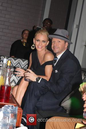 Jenny McCarthy and Donnie Wahlberg - 'The Attic' Grand opening  - Inside - New York City, New York, United...