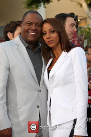 Holly Robinson Peete and Rodney Peete - '22 Jump Street' premiere at the Regency Village Theatre - Westwood, California, United...