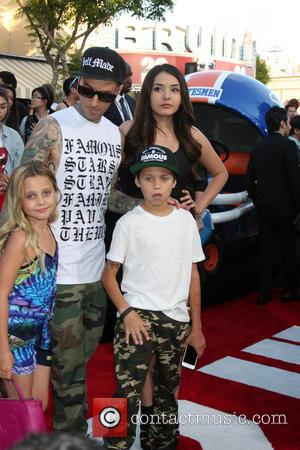 Travis Barker - '22 Jump Street' premiere at the Regency Village Theatre - Westwood, California, United States - Wednesday 11th...