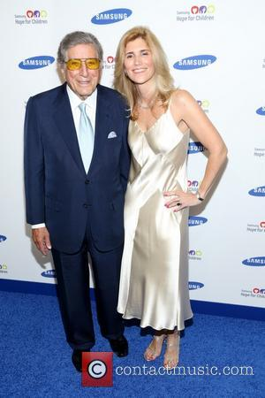 Tony Bennett and Susan Crow - Samsung Hope For Children Gala hled at Cipriani Wall Street - Arrivals - New...