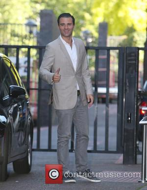 Darius Campbell - Darius Campbell outside ITV Studios - London, United Kingdom - Wednesday 11th June 2014