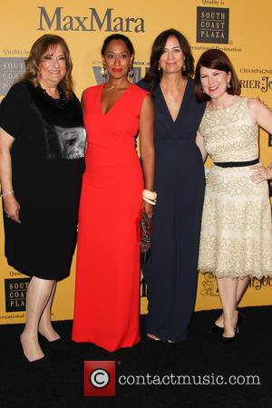 Iris Grossman, Tracee Ellis Ross, Jane Fleming and Kate Flannery
