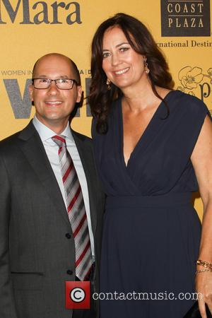 Mark Ordesky and Kate Flannery