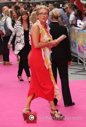 Emma Thompson - U.K. premiere of 'Walking on Sunshine' held at the Vue cinema - Arrivals - London, United Kingdom...