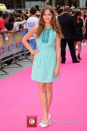 Ella Purnell - Walking On Sunshine - UK film premiere