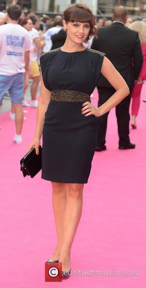 Annabel Scholey - U.K. premiere of 'Walking on Sunshine' held at the Vue Cinemas - Arrivals - London, United Kingdom...