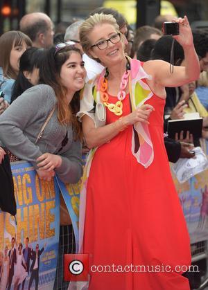 Emma Thompson - U.K. premiere of 'Walking on Sunshine' held at the Vue Cinemas - Arrivals - London, United Kingdom...
