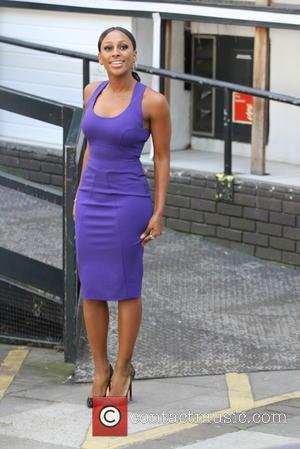 Alexandra Burke - X Factor winner Alexandra Burke arrives for daily chat and gossip show 'Loose Women' at ITV studios...