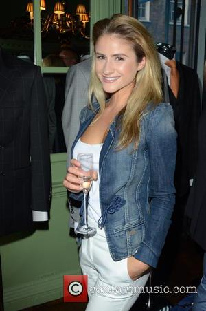 Eleni Griffith - Aston Martin SS15 collection by Bespoke HQ - Launch Party at L'Escargot London - London, France -...