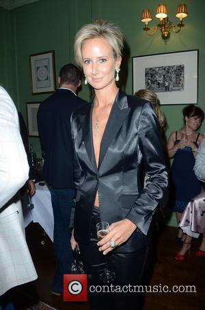 Lady Victoria Hervey - Aston Martin SS15 collection by Bespoke HQ - Launch Party at L'Escargot London - London, France...