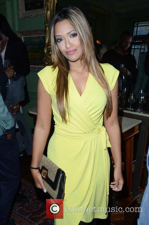 Tasmin Lucia Khan - Aston Martin SS15 collection by Bespoke HQ - Launch Party at L'Escargot London - London, France...