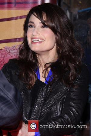 Idina Menzel - If/Then original Broadway cast CD signing held at the Sony Store. - New York, New York, United...