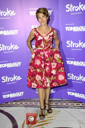 Tamsin Greig - The 'Life After Stroke Awards' held at the Dorchester Hotel - Arrivals - London, United Kingdom -...