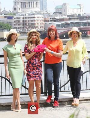 Andrea Mclean, Myleene Klass, Janet Street-porter and Nadia Sawalha