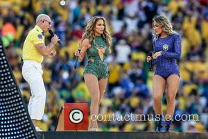 Jennifer Lopez, Claudia Leitte and Pitbull