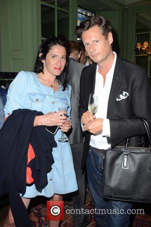 Amy Molyneoux and Percy Parker (fashion designers owners of PPQ) - Aston Martin SS15 collection by Bespoke HQ - Launch...