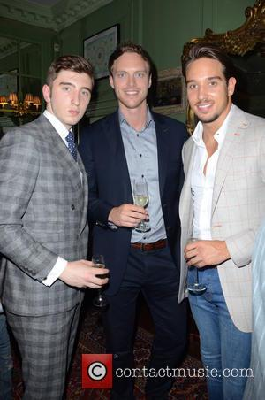 Harry Conway, Andy Saunders and James Lock - Aston Martin SS15 collection by Bespoke HQ - Launch Party at L'Escargot...