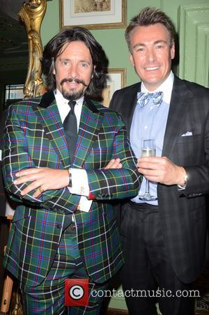 Lawrence Llewellyn Bowen and Stephen Williams - Aston Martin SS15 collection by Bespoke HQ - Launch Party at L'Escargot London...