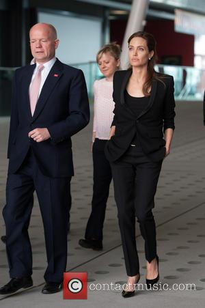 William Hague and Angelina Jolie - End Sexual Violence In Conflict Global Summit held at ExCeL London - London, United...