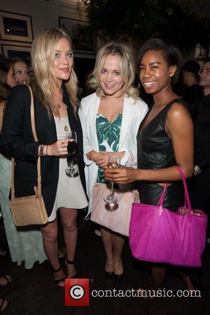 Laura Whitmore, Tolula Adeyemi and Poppy Jamie