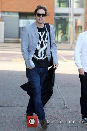 Charlie Simpson - Charlie Simpson outside the ITV studios - London, United Kingdom - Thursday 12th June 2014