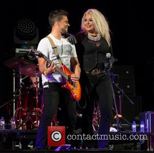 Kim Wilde - ERP Remember Cascais 2014 at Hipodromo Manuel Possolo - Day 1 - Performances - Cascais, Lisbon, Portugal...