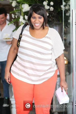 Kelly Price - Faith Evans and Kelly Price have lunch together at Villa Blanca, then pose for photos with fans...