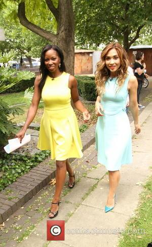 Myleene Klass and Jamelia