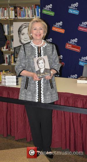 Hillary Clinton - Hillary Clinton signs copies of her new book 'Hard Choices' at the Philadelphia Free Library - Philadelphia,...