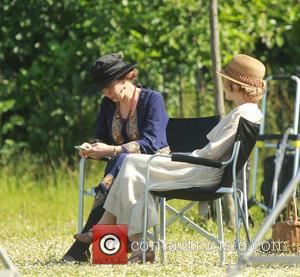 Amanda Abbington and Lauren Crace