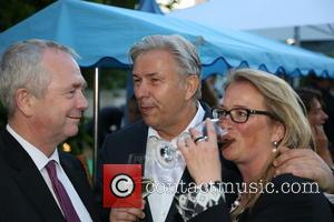 Klaus Wowereit - A Celebration of the 60th anniversary of Germany's victory in the 1954 soccer world cup (Wunder von...