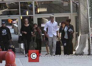 Angelina Jolie, Brad Pitt and Zahara Jolie-pitt