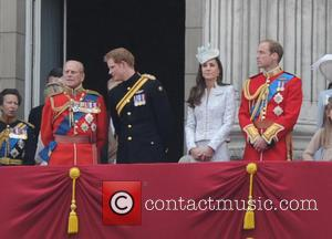 Duchess Of Cambridge, Prince Harry and Prince Phillip
