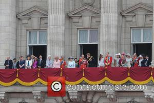 Prince Harry, Prince Philip, Duke Of Edinburgh, Anne and Princess Royal