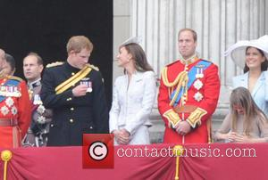 Prince William, Duke Of Cambridge, Prince Harry and The Duchess Of Cambridge